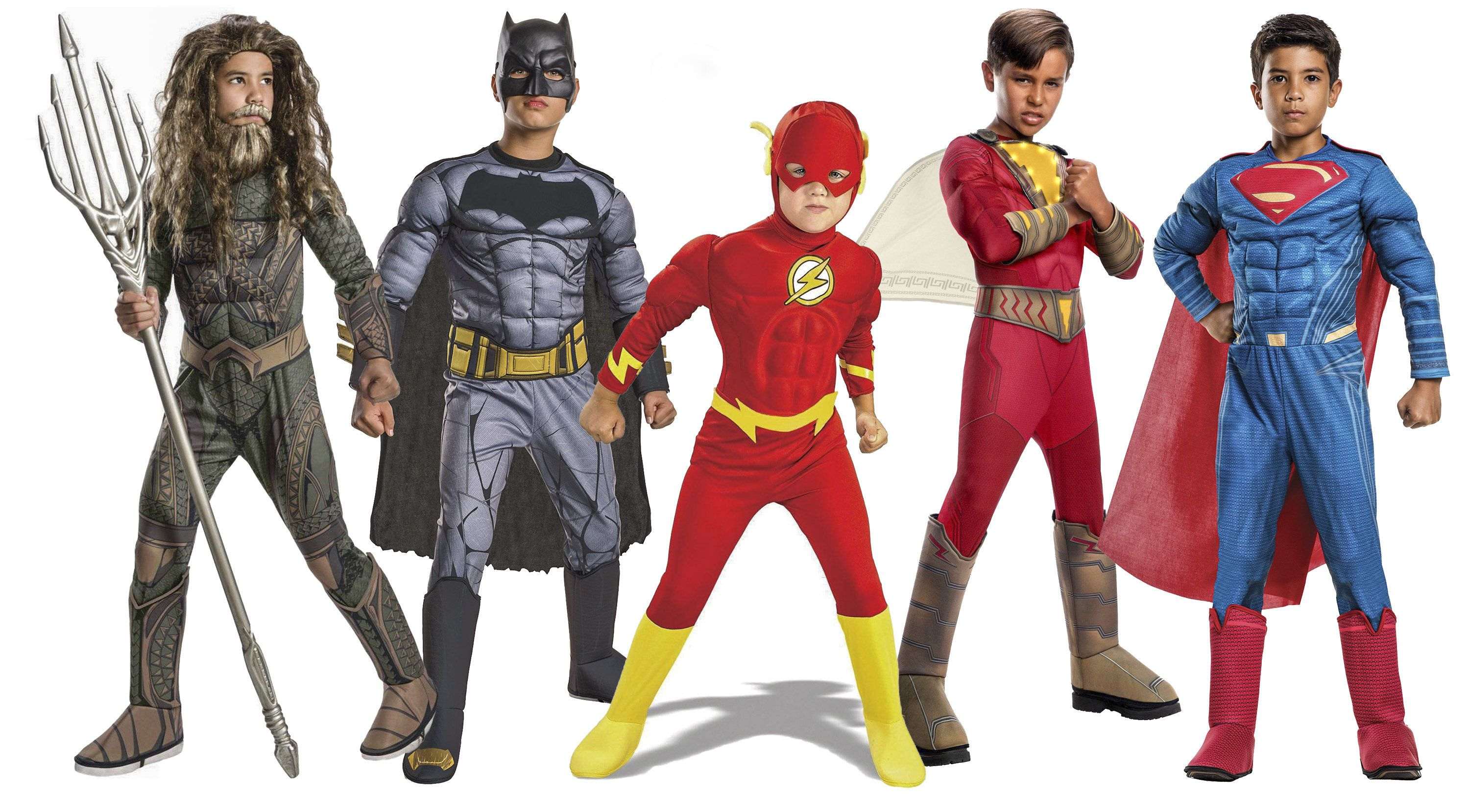 Boys Justice League Costumes