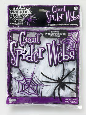 1.5oz White Spider Webs
