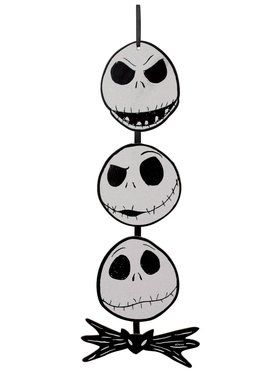 The Nightmare Before Christmas 3 Face Jack Board - 20.5 Inch
