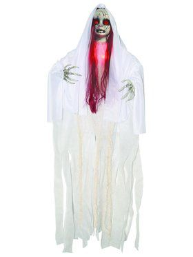 Haunted Light Up 3' Red Doll
