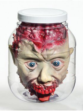 Head-in-Jar 3D Prop
