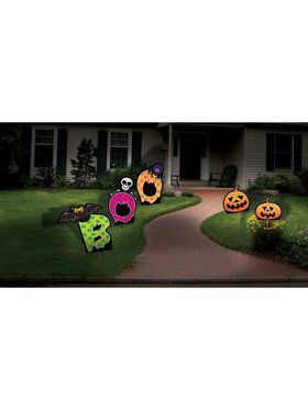 3Pc Boo Lawn Set