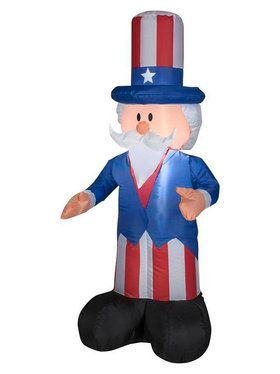 4' Airblown Uncle Sam