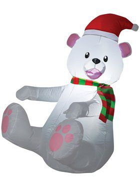 "42"" Air Blown Polar Bear Prop"