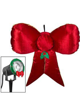 Airblown Inflatable 5' Hanging Velvet Bow