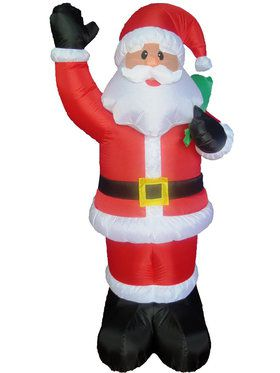 5' Inflatable Santa with Bag