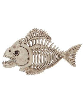 "5"" Skeleton Fish"