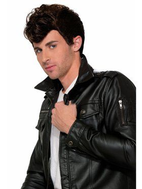 50'S Greaser Wig - Brown