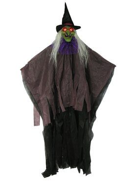 57-inch Witch Light-Up Prop