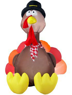 Airblown Inflatable 6' Turkey