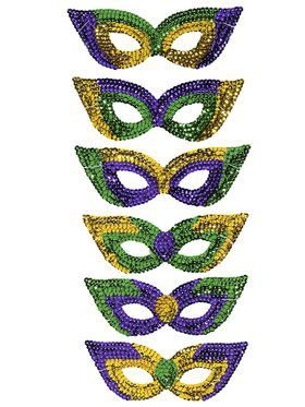 Mardi Gras Party Masks (6)