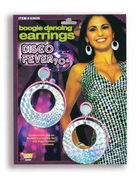 70s Disco Boogie Dancing Earrings