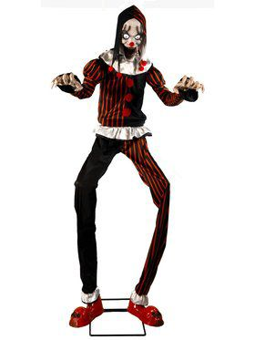 7Ft Animated Jester