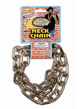 80'S Big Links Neck Chain - Silver