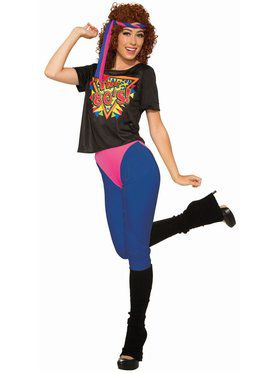 80'S Workout Diva Adult Costume