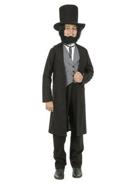 Abe Lincoln Boy's Child Costume