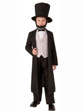Abraham Abe Lincoln Child Costume