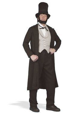 Abraham Lincoln Men's Costume