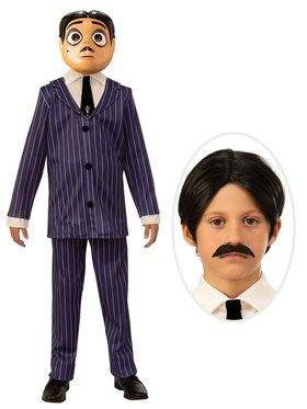 Addams Family Child Gomez Costume Kit