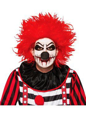 Adlt Killer Clown Wig