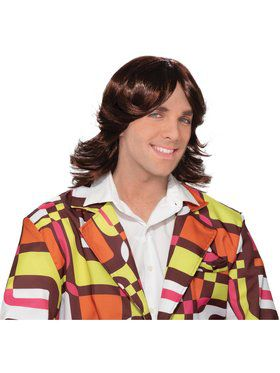 Adult 70S Dude Wig