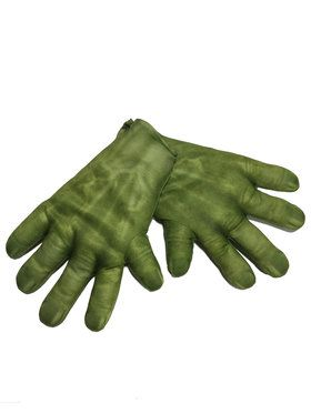 Avengers 2 Hulk Costume Gloves for Adults
