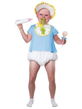 Big Booger Baby Adult Costume