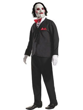 Adult Billy the Puppet Saw Costume