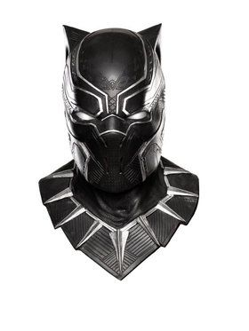 Overhead Adult Black Panther Latex 2018 Halloween Masks