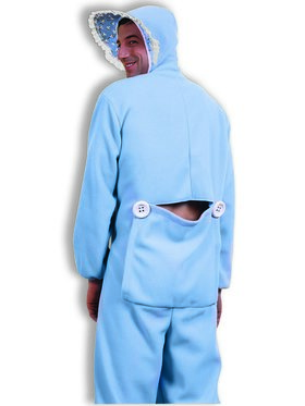 Blue Jammies Costume for Adults