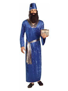 Blue Wiseman Adult Costume