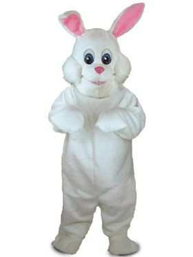 Adult Bunny Rabbit Mascot Costume