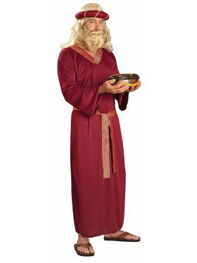 Burgundy Wiseman Adult Costume