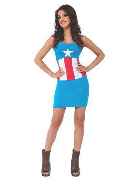 Adult Captain America Tank Dress