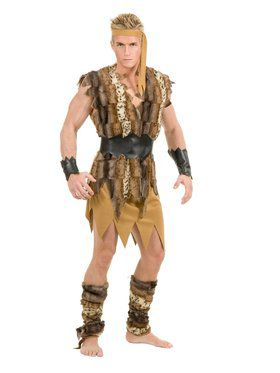Cool Caveman Adult Costume