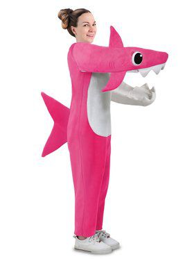 Adult Chompin' Mommy Shark Costume with Sound Chip
