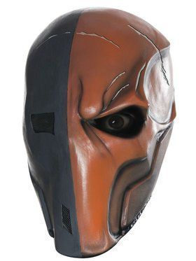 Adult Deathstroke 3/4 Mask