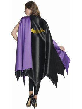 Batgirl Deluxe Cape for Adults