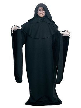 Adult Deluxe Black Full Cut Robe