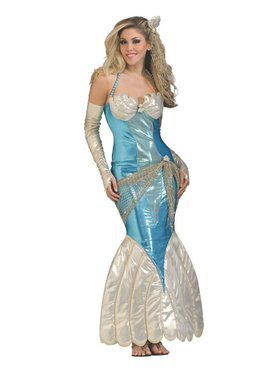 Adult Deluxe Mermaid Costume