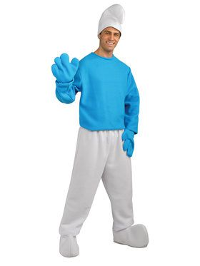 Adult Deluxe Smurf Costume