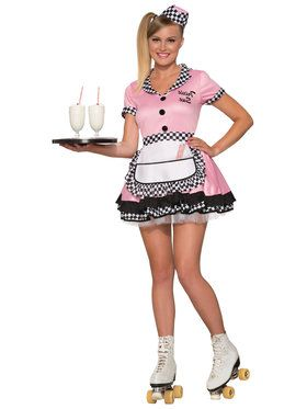 Adult Diner Trixie Sue Costume
