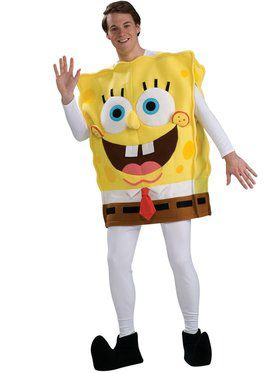 Adult Dlx Spongebob Costume