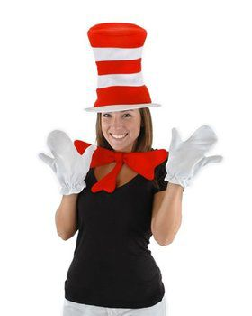 Dr. Seuss The Cat in the Hat - The Cat in the Hat Accessory Kit (Adult)