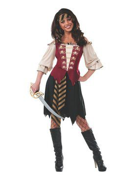 Adult Elegant Pirate Costume