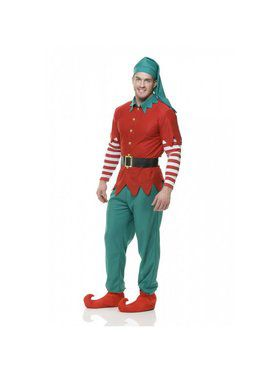 Christmas - Mens Elf Costume - Adult Christmas Costumes