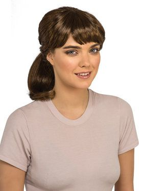 Ghostbuster Erin Adult Wig