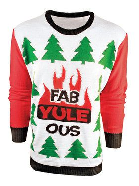 Adult Fab-Yule-Ous Ugly Sweater
