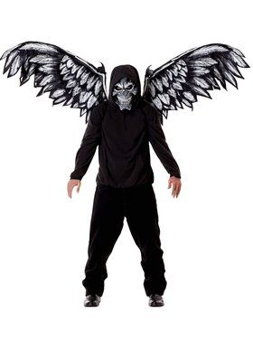 Adult Fallen Angel Mask And Wings