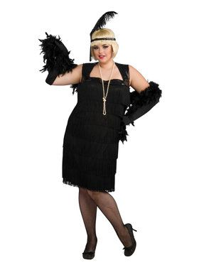 Flapper Costume for Adults